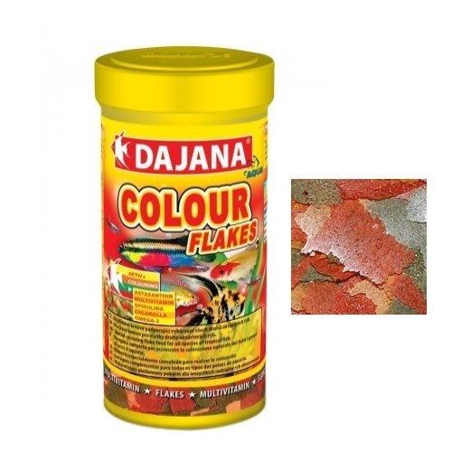 Dajana Colour Flakes – Aliment spécial en flocons pour tous les types de poissons