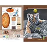 ROJA Long Notebook -Tiger designing Soft Cover, 120 Pages (Pack of 10)