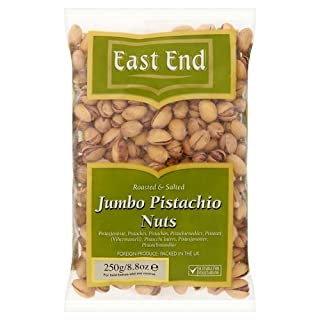 East End Jumbo Salted Pistachios, 250g