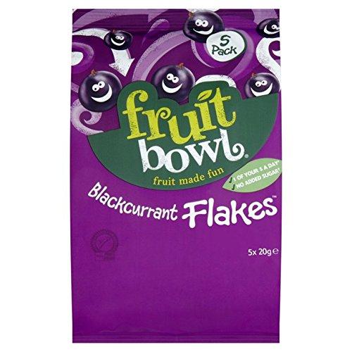 Fruit Bowl Fruit Flakes Blackcurrant 5 x 20g