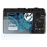Bruni Schutzfolie für Sony DSC-HX50V Folie - 2 x glasklare Displayschutzfolie