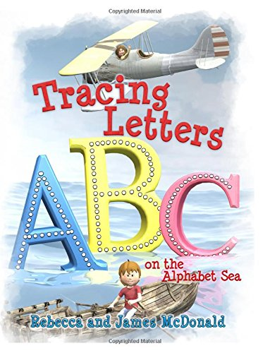 Tracing Letters On The Alphabet Sea A Sami And Thomas Preschool Kindergarten Abc Workbook