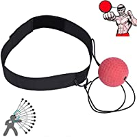 Ueasy Reflex Boxing Fight Ball Arm Strength Balance Practice Ball Great As Christmas Gift for Who Want Improve Reactions and Speed