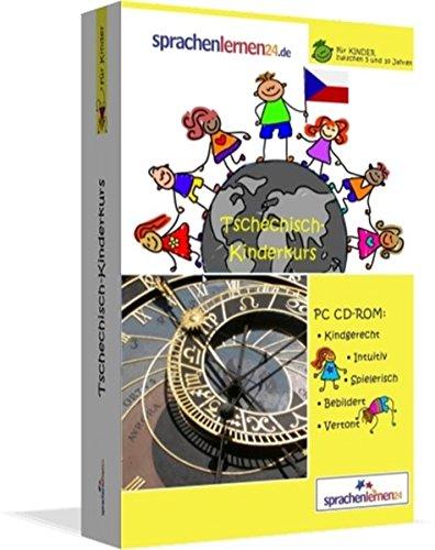 Tschechisch-Kindersprachkurs von Sprachenlernen24: Kindgerecht bebildert und vertont für ein spielerisches Tschechischlernen. Ab 5 Jahren. PC CD-ROM für Windows 10,8,7,Vista,XP / Linux / Mac OS X