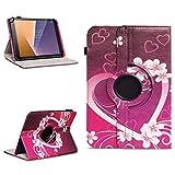 Tasche für Vodafone Tab Prime 7 Tablet Hülle Schutzhülle Case 360° Drehbar Cover, Farben:Motiv 2