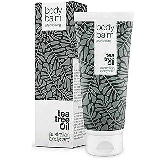 Australian Bodycare Body balm (200 ml) - After shave Balsam für Damen nach der Rasur & Waxing - Die beste Pflege mit Teebaumöl nach der Rasur, um Pickel, eingewachsene Haare und Rötungen zu vermeiden - Bekannt aus der Apotheke