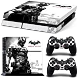 ZoomHit Ps4 Playstation 4 Consola Sticker Decal Pegatinas + 2 Controlador Skins Set (Batman Arkham Knight)