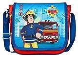 Undercover FSTU7293 - Feuerwehrmann Sam Kindergartentasche, zum Umhängen, ca. 21 x 22 x 8 cm
