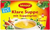 Maggi Klare Suppe mit Suppengrün, 8 Würfel, 168 g