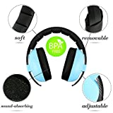Baby Ear Defenders, Baby Headphone, Noise Cancelling Headphone for Baby and Child, Baby Earmuff(Ages 3-24+ Months), Infant Hearing Protection Earmuff, Soft & Adjustable, Baby Ear Protection