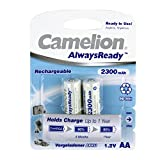 Camelion 17421206 - Always Ready Akku R06 Mignon 2300mAh 2er-Pack Blister
