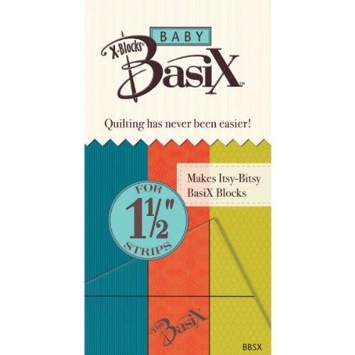 Colonial Needle Baby Basix X-Blocks-Schablone, 3,8 cm -