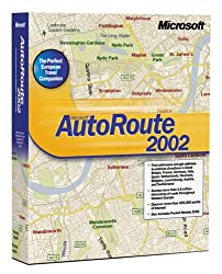 Autoroute Great Britain & Europe 2002 (New Version Is Autoroute 2004, Asin: B0000by7x8)