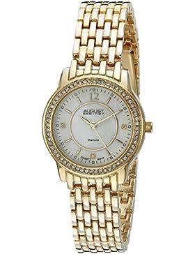 August steiner Damen-Armbanduhr Analog Quarz AS8027YG