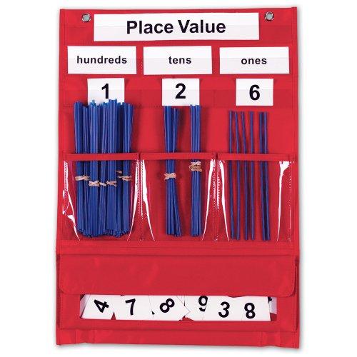 Learning Resources Tableau pour apprendre à compter et les valeurs de positions