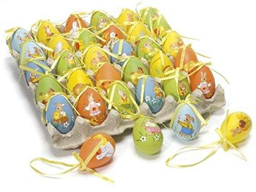Ideapiu idea decorazioni pasquali, uova decorative 60, uova pasqua decorata da appendere, uova pasquali, decorazioni pasquali
