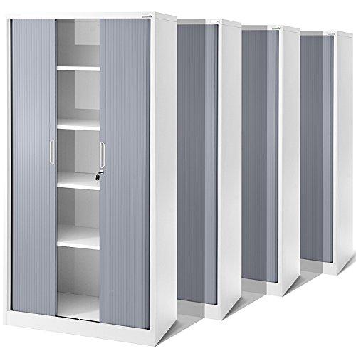 Universalschrank 4er Set - Jalousieschrank für Ihr Büro