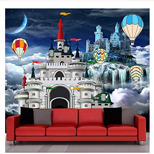 hintergrundbild foto kinder küche Benutzerdefinierte Wandbild Tapete 3D Schloss Märchen Foto Wandmalerei Kinderzimmer Cartoon Hintergrund Wanddekor Papel De Parede Wandtapete
