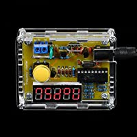 Bundle of 2, KKmoon DIY Frequency Tester Crystal Counter Meter Oscillator Tester with Transparent Case 1Hz~50MHz
