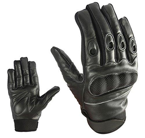Sport Motorrad Handschuhe Vollfinger Sommer Army Gloves Gr S , M , L , XL und 2XL HS 001 (S)
