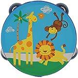 Tambourins En Bois Tambour Cloche Instrument De Musique à Percussion Jouet Enfants