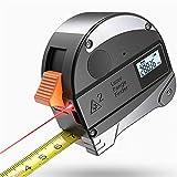 Dadahuam Ruban à mesurer, Ruban à mesurer Portable en Acier Haute précision Portable, Ruban à mesurer Haut de Gamme Laser 5 + 30M pour la Construction, la Maison et Le Bricolage