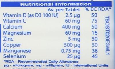 Vitabiotics Osteocare Fizz - 20 Effervescent Tablets