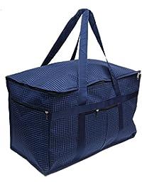 DIVYANA® 80 Liters Foldable Water Resistant Extra Large Size Travel Duffle Bag Luggage Bag Storage Bag Home Organizer...