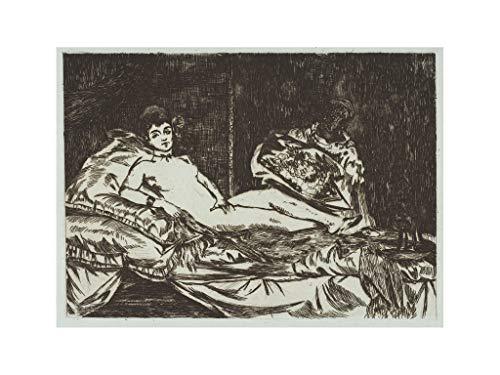Edouard Manet - Olympia (large plate) Print 1867 Print 60x80cm