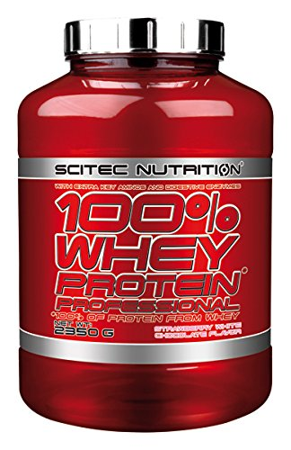 Scitec Nutrition 100% Whey Protein Professional fraise-chocolat blanc 2350 g