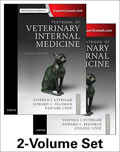 Textbook of Veterinary Internal Medicine Expert Consult, 8e (2 Volumes) por Stephen J. Ettinger DVM  DACVIM