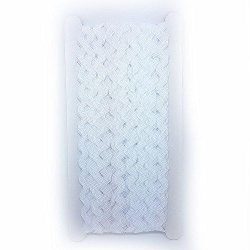 e Meter Band Braid Band Ricrac Wahl Farben DIY Nähen trim auf der Zubehör Dachboden weiß (Roter Teppich Für Den Abschlussball)