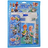 Parteet Mix Stationery Gift Set With Writing Board And Metal Pencil Box For Kids (Frozen)