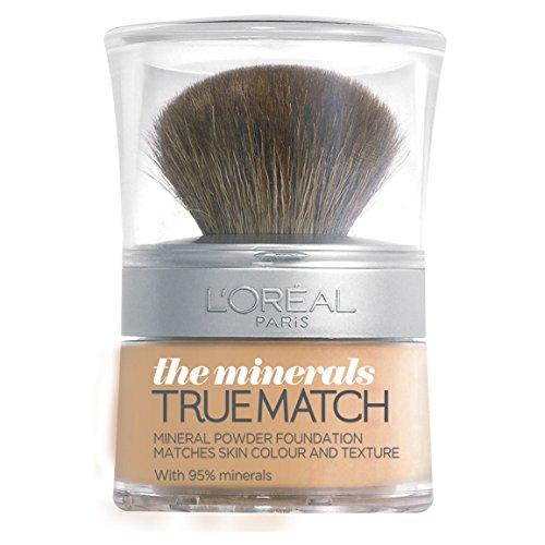 L'Oreal Paris True Match Minerals Grundierung, 6.N Honey, 10 g (L True Match Oreal)