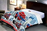 #10: Uber Urban Spiderman Boys Single Duvet Cover cum Dohar / AC Quilt
