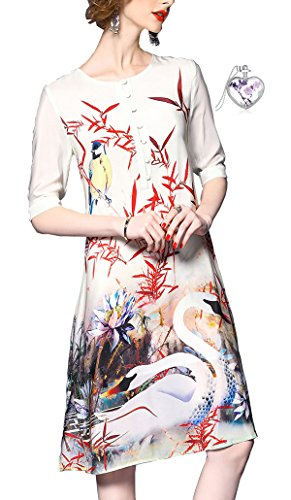 Lacus-UK - Robe - Femme Blanc