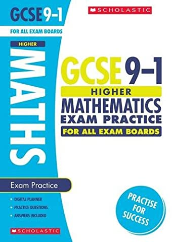 Maths Higher Exam Practice Book for All Boards: Higher