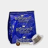 100 CAPSULE CAFFE' BARBARO compatibili bialetti ARABICA DELICATO