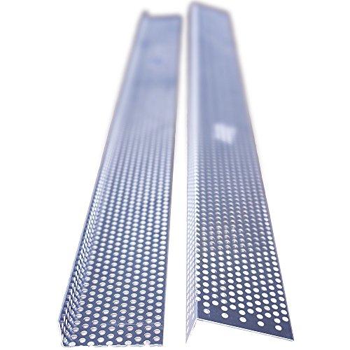 Aluminium Lochblechprofil 25/73mm, Länge 2 Meter, Haus und Gartenprofil 12