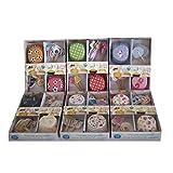 LB H&F 288 teiliges XXL Muffin Cupcake Förmchen Set bunt - 144 Förmchen und 144 Spieße