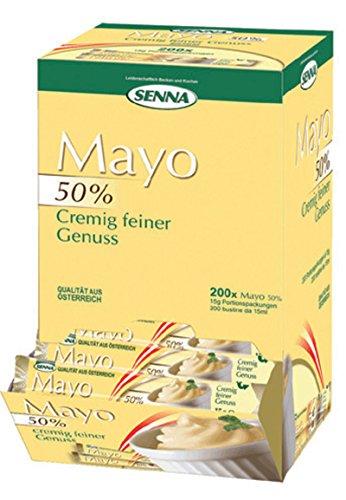 MAIONESE BUSTE GR15 X 200 PEZZI - Maionese Senza Glutine