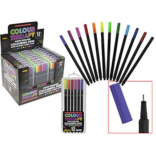 12pc-color-terapia-super-fine-line-crayons-en-la-cartera