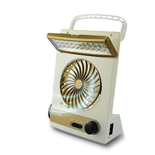 Solar Cooling Fan Portable Mini Fan 3 in 1 Multi-functional