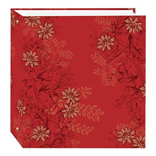 Pioneer Fotoalbum TR-100/BK magnetisch 3-Ring 100 Seiten schwarz Asiatisch Red Foliage