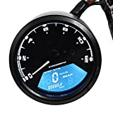 Digital-Tachometer Motorrad - Kingwo 0-199km