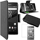 ebestStar - Etui Sony Xperia Z5 Compact - Housse Coque Etui Portefeuille...