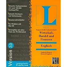 Fachwörterbuch Wirtschaft, Handel und Finanzen 2.0. Englisch. CD- ROM für Windows 3.1/95. MacOS 7.5