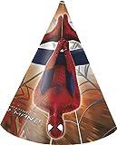 Parti Chapeaux Motif Amazing Spiderman Marvel, Lot de 6
