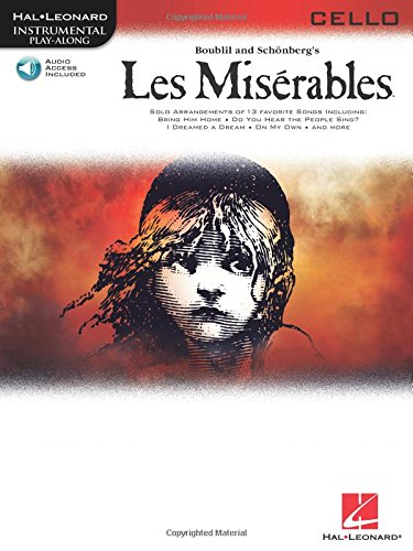 Les Miserables Play-Along Pack -For Cello-: Noten, CD, Sammelband für Cello (Hal Leonard Instumental Play-along)