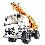 Modbrix Technik RC LKW Ferngesteuerter Kran-LKW, Konstruktionsspielzeug 838 Teile -